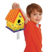 Made by Me Bird House with Wind Chimes Kit by Horizon Group USA 1
