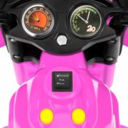 Kids Ride On Motorcycle 6V Toy Battery Powered Electric 3 Wheel Power Bicycle 5