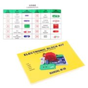 Excelvan Teacher Wang W-39 Snap circuits Electronics Discovery Kit Science Educational Toy 4