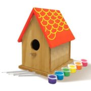 Made by Me Bird House with Wind Chimes Kit by Horizon Group USA 2
