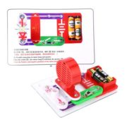 Excelvan Teacher Wang W-39 Snap circuits Electronics Discovery Kit Science Educational Toy 6