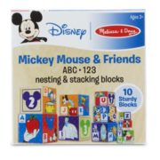 Melissa & Doug Mickey Mouse & Friends Nesting & Stacking Blocks Baby Toy 2