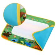 Magical Drawing Cloth Mat Children Writing Blanket Toy Multicolor with A Pen Learning Toys DEAML 2