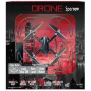 Alta Black Quadcopter Sparrow RC Drone with 2.4GHZ 4 Channels Remote Control 2