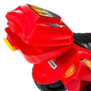 Kids Ride On Motorcycle 6V Toy Battery Powered Electric 3 Wheel Power Bicycle Red 3