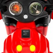 Kids Ride On Motorcycle 6V Toy Battery Powered Electric 3 Wheel Power Bicycle Red 5