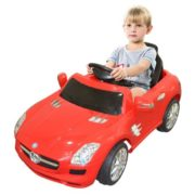 Costway RED MERCEDES BENZ 300SL AMG RC Electric Toy Kids Baby Ride on Car 2