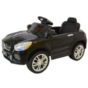 Costway 6V Kids Ride On Car RC Remote Control Battery Powered w/ LED Lights MP3 Black 4