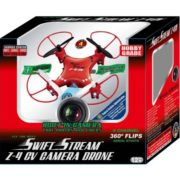 Swift Stream Z-4CV 4Hz 5-Channel RC Mini Drone with 6-Axis Gryo and 0.3MP Camera, Red 2