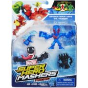 Marvel Super Hero Mashers Micro Spider-Man 2099 and Venom Action Figures, 2 Pack 1