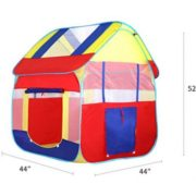 Kiddey Blue Playhouse Tent for Boys  Polyester Nylon Pop Up for Indoor/Outdoor Fun  Promotes Creativity, Imagination, Early Learning  (BALLS AND TUNNEL NOT INCLUDED) By Kiddey 2
