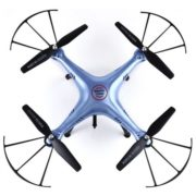 Cheerwing Syma X5HW-I FPV 2.4Ghz 4CH RC Headless Quadcopter Drone UFO with Hover Function HD Wifi Camera, Blue 4