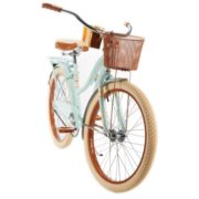 """""""Huffy 24″"""" Nel Lusso Womens' Cruiser Bike with Basket, Mint"""" 1"""