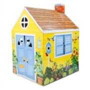 Melissa & Doug Country Cottage Indoor Corrugate Playhouse (Over 4 Feet Tall) 1