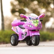 Kids Ride On Motorcycle 6V Toy Battery Powered Electric 3 Wheel Power Bicycle 1
