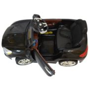 Costway 6V Kids Ride On Car RC Remote Control Battery Powered w/ LED Lights MP3 Black 6