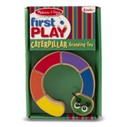 Melissa & Doug Caterpillar Wooden Grasping Toy for Baby 1
