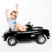 Costway Black MERCEDES BENZ 300SL AMG RC Electric Toy Kids Baby Ride on Car 2
