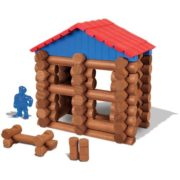 – Lake Union Lodge – 88 Pieces – Ages 3+ – Preschool Educational Toy, 88 ASSORTED PIECES – This building set comes with 88 logs and plastic roof pieces…, By Lincoln Logs 2