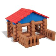 – Lake Union Lodge – 88 Pieces – Ages 3+ – Preschool Educational Toy, 88 ASSORTED PIECES – This building set comes with 88 logs and plastic roof pieces…, By Lincoln Logs 4