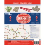 TINKERTOY Deluxe Set – 100 Pieces – Ages 3 and Up – Preschool Educational Toy 2