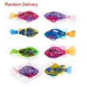 TopBay Flashy Electronic Kids Toy Robot Fish  Swimming Diving Electric Turbot Clownfish TPBY 1