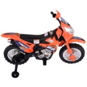Costway Kids Ride On Motorcycle with Training Wheel 6V Battery Powered Electric Toy 1