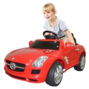 Costway RED MERCEDES BENZ 300SL AMG RC Electric Toy Kids Baby Ride on Car 1