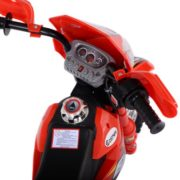 Costway Kids Ride On Motorcycle with Training Wheel 6V Battery Powered Electric Toy 5