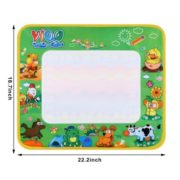 Magical Drawing Cloth Mat Children Writing Blanket Toy Multicolor with A Pen Learning Toys DEAML 1