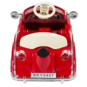 Ride on Car RC Classic Car Remote Control Electric Battery Power – Red 2