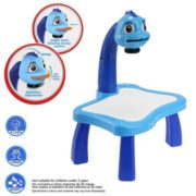 Children Educational Development Drawing Painting Toy Multifunctional for Kids Boy Girl  Fun Learning Desk Set GOGBY 4
