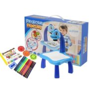 Children Educational Development Drawing Painting Toy Multifunctional for Kids Boy Girl  Fun Learning Desk Set GOGBY 3