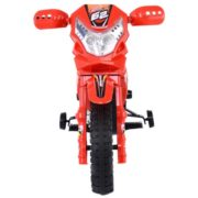 Costway Kids Ride On Motorcycle with Training Wheel 6V Battery Powered Electric Toy 3