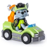 Paw Patrol Mission Paw- Rocky's Repair Cart- Figure and Vehicle 1