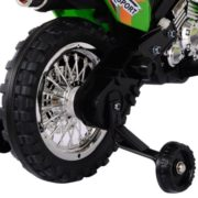 Costway Kids Ride On Motorcycle with Training Wheel 6V Battery Powered Electric Toy 6