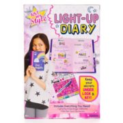 Just My Style Light-Up Diary Kit by Horizon Group USA 3