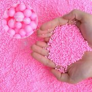 Mini Foam Balls for Slime, Colorful Styrofoam Beads for Arts, DIY Crafts, Kids Homemade Crunchy Slime, Wedding and Party Decorations and Kids Sewing Filling 4 Pack 70000pcs 0.1- 0.14 inch 4