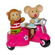 International Playthings ELC Toybox Martha Mouse and her Scooter 4