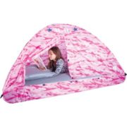 Pink Camo Bed Tent, Twin 1