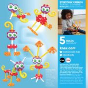 KID K'NEX – Stretchin' Friends Building Set – 23 Pieces – Ages 3 and Up Preschool Educational Toy 4