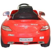 Costway RED MERCEDES BENZ 300SL AMG RC Electric Toy Kids Baby Ride on Car 4