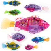 TopBay Flashy Electronic Kids Toy Robot Fish  Swimming Diving Electric Turbot Clownfish TPBY 2