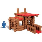 – Lake Union Lodge – 88 Pieces – Ages 3+ – Preschool Educational Toy, 88 ASSORTED PIECES – This building set comes with 88 logs and plastic roof pieces…, By Lincoln Logs 3