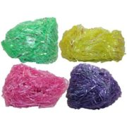 Set of 8 OZ Easter Grass! 4 Iridescent Colors! Beautiful Easter Grass Perfect for Easter Baskets, Decorations, or Arts and Crafts! (Plastic Iridescent 8 OZ MIX) 1