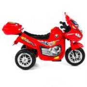 Kids Ride On Motorcycle 6V Toy Battery Powered Electric 3 Wheel Power Bicycle Red 2