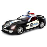 Super Police Ferrari 599 XX Remote Control RC Sports Car 1:16 Scale RTR Ready To Run (Colors May Vary) 1