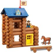 – Horseshoe Hill Station – 83 Pieces – Ages 3+ Preschool Education Toy, INCLUDES 83 PIECES – LINCOLN LOGS Horseshoe Hill Station contains 83 parts and.., By Lincoln Logs 2