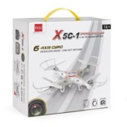 RC 6-Axis Quadcopter Flying Drone Toy With Gyro and Camera Remote Control LED Lights 5