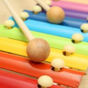 Kids Baby Natural Wooden Piano Educational Xylophone Musical Instrument Glockenspiel Toy Inspire Children's Talent Children Kids Baby Music Educational Toys Gift Hand Knock Piano 5